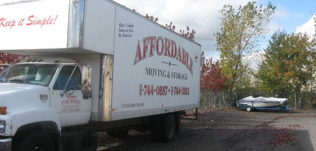 AAA Affordable Moving truck 2